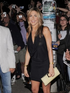 Jennifer Aniston at the premiere of 'Management' at the Toronto International Film Festival
