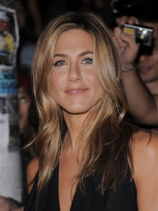 Jennifer Aniston at the 2008 Toronto Film Festival