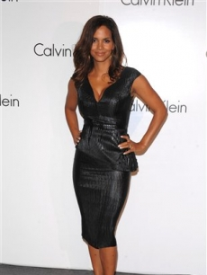 Halle Berry at the Calvin Klein 40th anniversary party