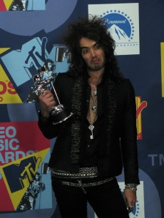 Russell Brand after hosting the VMAs