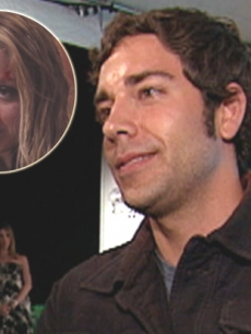 Zachary Levi of 'Chuck' and Nicole Richie (inset)