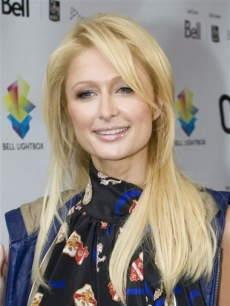 Paris Hilton at the gala premiere for her movie 'Paris, Not France' at the Toronto Film Festival