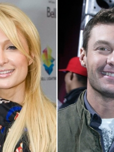 Paris Hilton and Ryan Seacrest