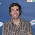 Zachary Levi arrives at NBC's Fall Premiere Party at Boulevard 3, Sept. 18