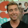 Lance Bass at the premiere of  '9 To 5' in Los Angeles, Sept. 2008