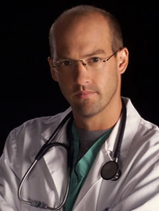 Anthony Edwards as Dr. Greene on 'ER'