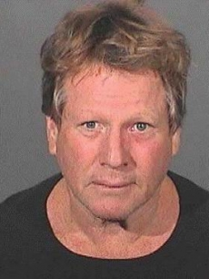 Ryan O'Neal mug shot (Sept. 2008)