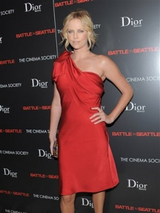 Charlize Theron attends a Film Society hosted screening of 'Battle In Seattle' at the Tribeca Hotel