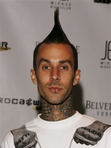 Travis Barker in Las Vegas