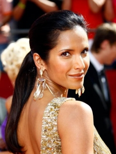Padma Lakshmi arrives at the 60th Primetime Emmy Awards