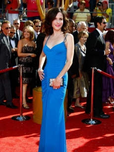 Mary-Louise Parker arrives at the 60th Primetime Emmys