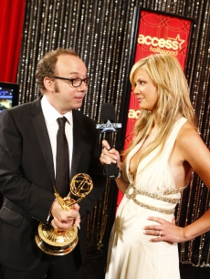 Paul Giamatti and Nancy O'Dell