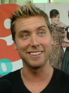 Lance Bass at the premiere of&#160; &#8216;9 To 5&#8217; in Los Angeles, Sept. 2008 