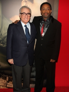 Directors Martin Scorsese and Spike Lee attend the premiere of &#8216;Miracle at St. 