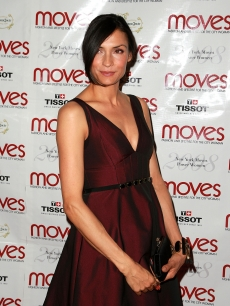 Famke Janssen at the Moves Power Women Awards in New York