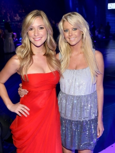 Kristin Cavallari and Tara Reid attend the Macy's Passport 2008 Gala