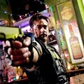 Jeffrey Dean Morgan stars as The Comedian in a scene from the film, 'Watchmen'
