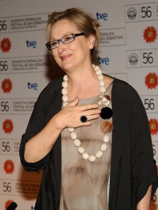 Meryl Streep receives the Donostia Award in San Sebastian, Spain