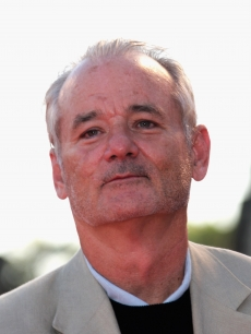 Bill Murray attends a screening of 'Michael Clayton'