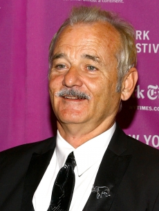 Bill Murray promotes 'The Darjeeling Limited' at the New York Film Festival