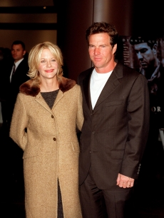 Meg Ryan and Dennis Quaid in 1998