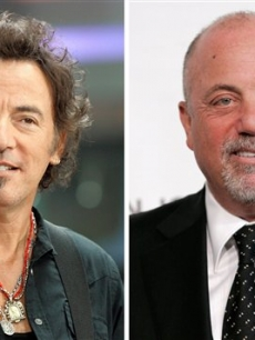 Bruce Springsteen and Billy Joel