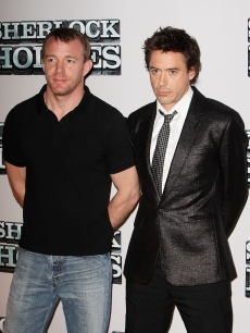 'Sherlock Holmes' director and star, Guy Ritchie and Robert Downey Jr