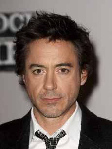 Robert Downey Jr. at the 'Sherlock Holmes' press conference