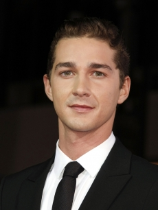 Shia LaBeouf at the 'Eagle Eye' premiere in Los Angeles