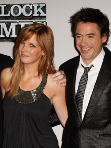 Guy Ritchie, Kelly Reilly, Robert Downey Jr. and Rachel McAdams at 'Sherlock Holmes' press conference