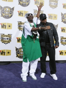 Flavor Flav and Chuck D attend the 2008 VH1 Hip Hop Honors 2008