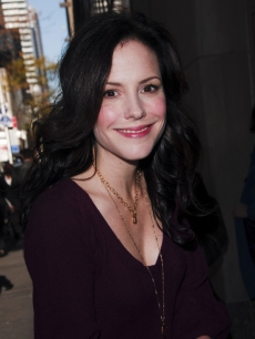 Mary-Louise Parker on her way to NBC's 'Today' show