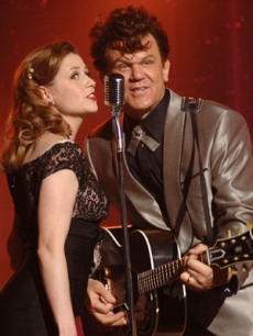 John C. Reilly and Jenna Fischer in 'Walk Hard'
