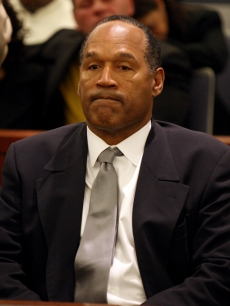 O.J. Simpson reacts as he is found guilty of all charges in Las Vegas