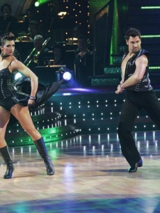 Misty and Max dance the Paso doble during week 2 of 'Dancing With the Stars' competition