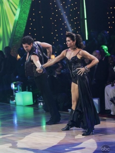 Misty and Maks tear up the 'Dancing' floor during week 2 of 'DWTS' competition