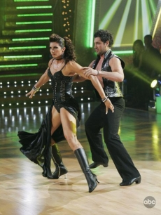 Misty and Maks strut their stuff with a Paso doble on 'Dancing'