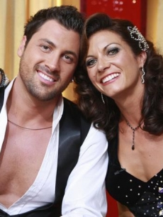 'Dancing's' Misty May-Treanor and her partner Maksim Chmerkovskiy
