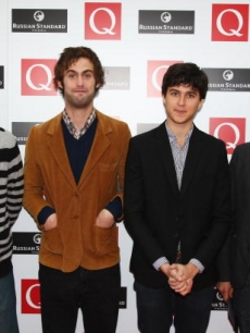NYC band Vampire Weekend arrive at the 2008 Q Awards, London, Oct. '08