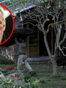 Nick Nolte's house fire
