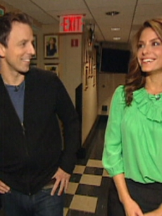 Seth Meyers and Access' Maria Menounos talk 'SNL Thursday Night Live'