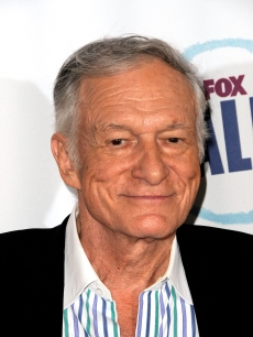 Hugh Hefner arrives at the Fox Reality Channel Really Awards on  Sept. 24, 2008