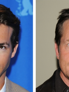 Ryan Reynolds and Michael J. Fox