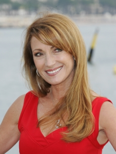 Jane Seymour poses during MIPCOM at the Majestic Pier on October 13, 2008 in  Cannes