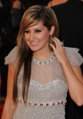 Ashley Tisdale attends the UK premiere of &#8216;High School Musical 3&#8217; 