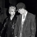 Madonna and Sean Penn attend a theater performance, August 28, 1986 