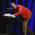 Will Ferrell gets silly on stage