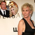 Trudie Styler, Madonna and Guy Ritchie (inset)