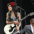 Amy Winehouse performs on day two of the V Festival at Hylands Park in Chelmsford, England