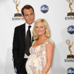 Amy Poehler and husband Will Arnett at the Emmy Awards